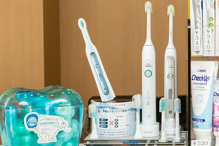 ソニッケアー電動歯ブラシをオススメしてます!